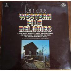 "Грампластинка ""Famous Western Film Melodies"", Чехословакия, 1975"